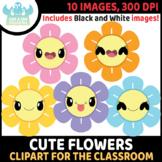 FREEBIE - Cute Flowers Clipart (Lime and Kiwi Designs)