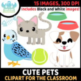 FREEBIE - Cute Pets Clipart (Lime and Kiwi Designs)