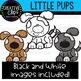 Little Pups Clipart {Creative Clips Clipart}
