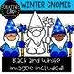 Winter Gnomes: Winter Clipart {Creative Clips Clipart}