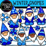 Winter Gnomes: Winter Clipart {Creative Clips Clipart}