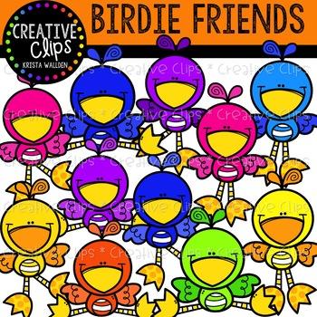 Bird Friends {Creative Clips Clipart}