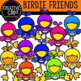 Bird Friends {Creative Clips Clipart}