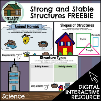 FREEBIE | DIGITAL Strong and Stable Structures (Science)