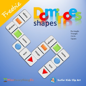 FREEBIE - GAMES - DOMINOES FOR SHAPES