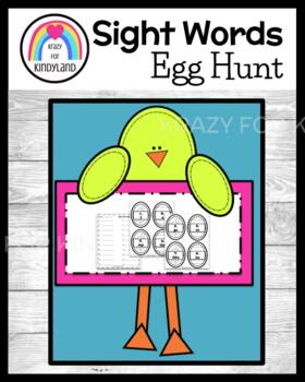 Easter FREEBIE!! Daily 5 Word Work: Sight Word Egg Hunt