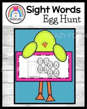 Easter FREEBIE!! Daily 5 Word Work: Sight Word Egg Hunt
