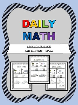 FREEBIE! Daily Math - 1.OA.C.5