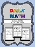 FREEBIE! Daily Math - 1.OA.C.5
