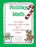 Holiday Math - Daily Spiral Review