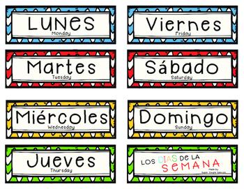 Days of the Week in Spanish | Los Dias de La Semana