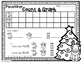 FREEBIE--December Count & Graph--Math Center for K-2