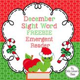 FREEBIE December Emergent Reader Sample