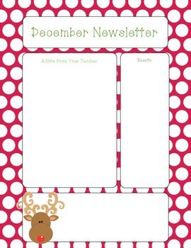 FREEBIE- December Newsletter