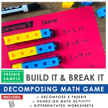 FREEBIE - Decomposing numbers: The Game