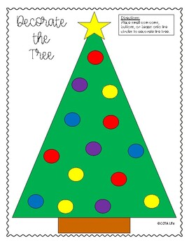 FREE Decorate the Tree