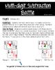 FREEBIE Differentiated Subtraction Battle Math Center