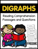 Digraph CH Reading Comprehension Passages and Questions FREEBIE