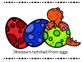FREEBIE: Dinosaurs: Print or No Print Simple Nonfiction Story