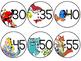 FREEBIE Disney Clock Labels