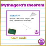 FREEBIE Distance Learning Pythagorean Theorem Boom Cards