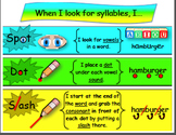 **FREEBIE** Dividing Words into Syllables- POSTER