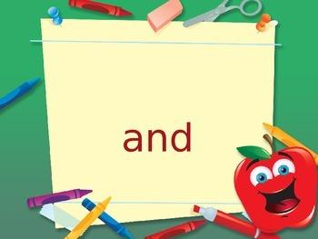 FREEBIE Dolch word preprimer