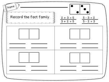 {FREEBIE} Domino Fact Families for Addition and Multiplication