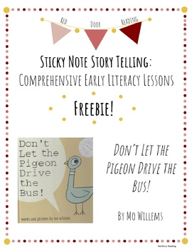 "FREEBIE ""Don't Let the Pigeon Drive the Bus"" Interactive Read Aloud Lesson Plan"