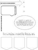FREEBIE: Doodle Notes on Blending Quotations Template