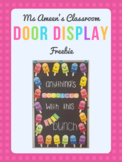 FREEBIE Door Display - Anything's Popsicle with this Cool Bunch