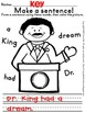 {FREEBIE} Dr. King Busy Work for First Graders