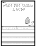 """Dr. Seuss """"What Pet Should I Get?"""" Writing Template"""