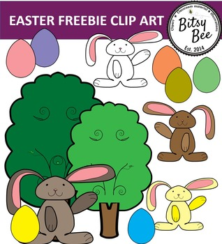 FREEBIE EASTER CLIP ART