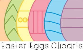 FREEBIE - EASTER EGGS -CLIPART