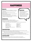 "FREEBIE: ESL/EFL ""Happiness"" Expressions and Idioms Lesson Plan and Printables"