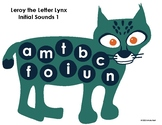 FREEBIE: Early Childhood Literacy Center: Leroy the Letter