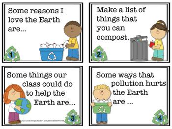 FREEBIE! Earth Day Mini Writing Packet