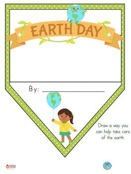 FREEBIE Earth Day Pennant Banner Worksheet