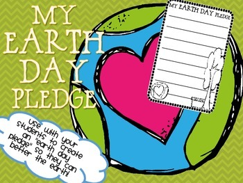 {FREEBIE} Earth Day Pledge