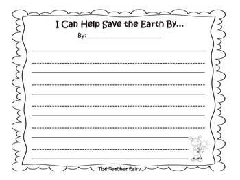 FREEBIE Earth Day Writing