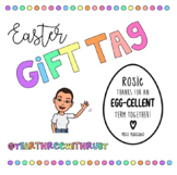FREEBIE Easter Gift Tags for Students