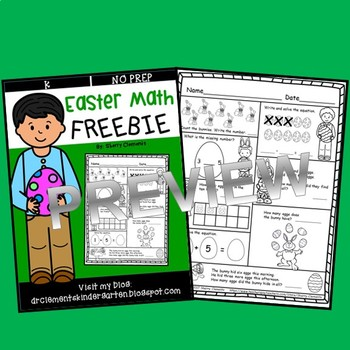 FREEBIE Easter Math