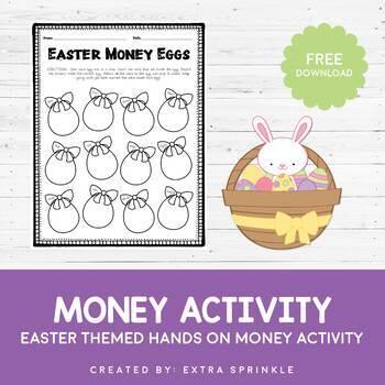 FREEBIE Easter Money Eggs