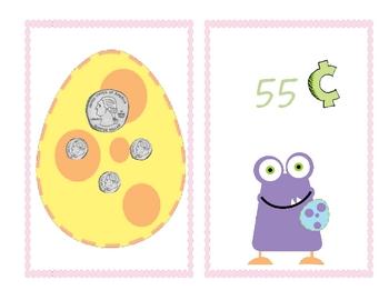 FREEBIE Easter Monster Money