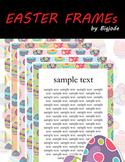 FREEBIE Easter frames Clipart