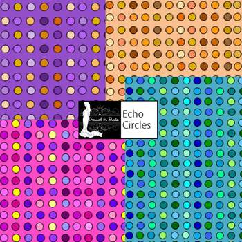 FREEBIE - Echo Circles Digital Paper