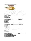 FREEBIE Economics Test and *BONUS* Study Guide
