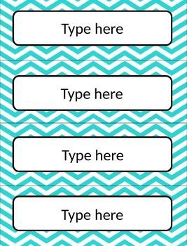 FREEBIE - {Editable} Basket Labels!