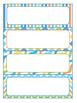 FREEBIE : Editable Labels : Creamsicle Rainbow